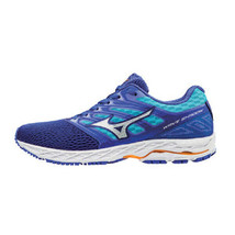 Mizuno WAVE SHADOW Women's Running Shoes Blue Marathon Jogging NWT J1GD173007 - $85.41