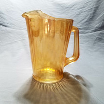 Vintage Jeannette Marigold Paneled Water Pitcher (circa 1950s) - $18.00