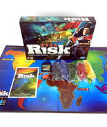 Risk Board Game Hasbro EA 2010 3 Versions In 1 Global Domination Complet... - $30.00