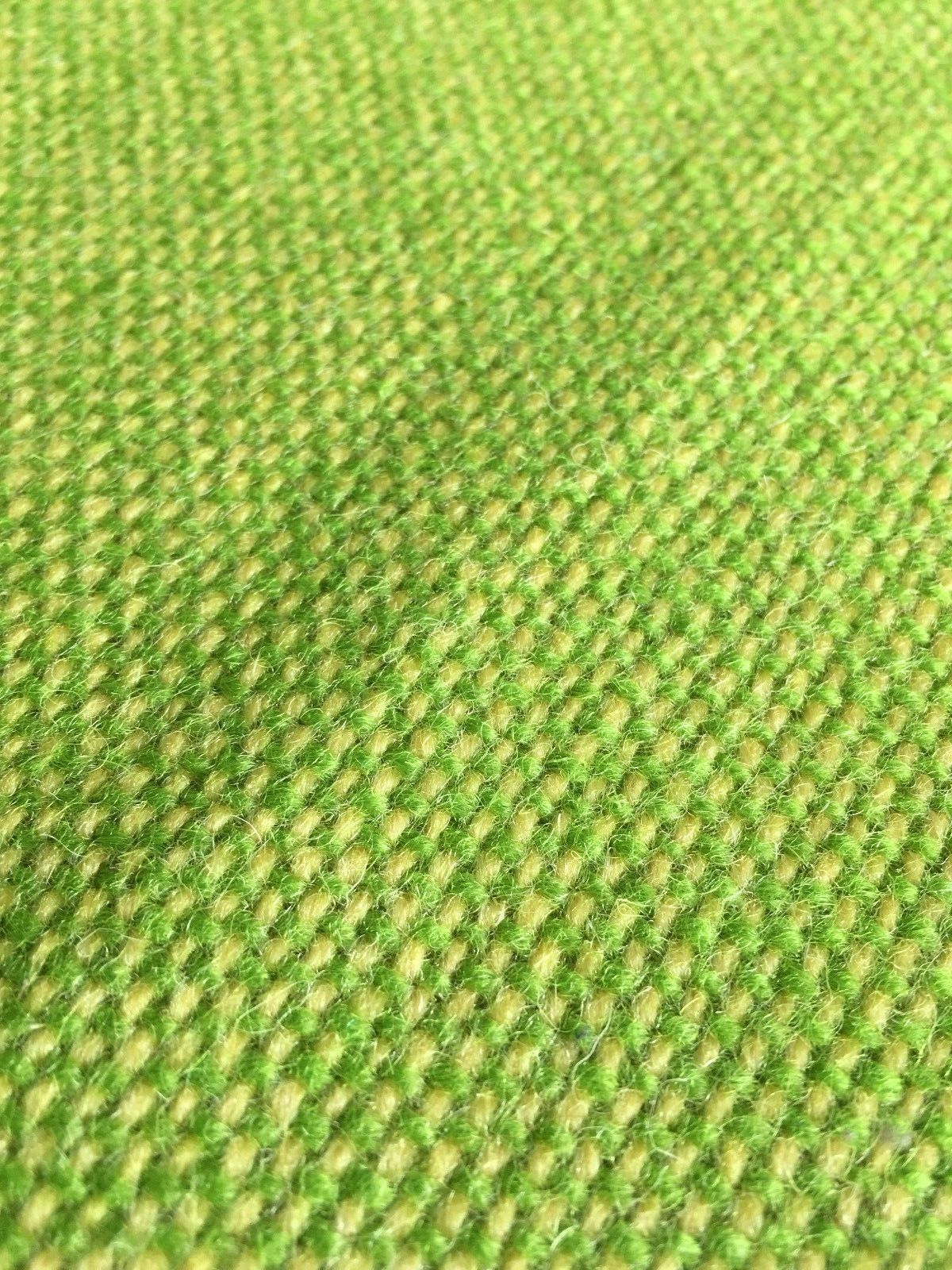 1.875 yds Wool Upholstery Fabric Hallingdal Inspired Spring Green Yellow DK