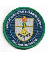 USAF Medical Education & Training Campus Fort Sam Houstion Texas Patch - $11.87