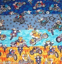 Hair Scrunchies Pigs Cats Dogs Bikes Motorcycle Ponytail Holder Tie by Sherry - $6.99