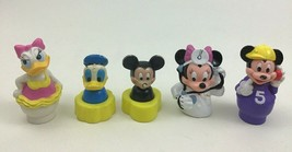 Disney Mickey Mouse and Friends Minnie Daisy Donald Toy Figures Lot 5pc ... - $10.84