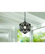 Hampton Bay Plug In 1-Light Bronze Pendant Light (Bulb Included) MISSING... - $19.79