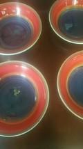 Multi-Colored Cereal Soup Salad Bowls Set of 4-Royal Norfolk-New-RARE-SHIPN24HRS - $41.94