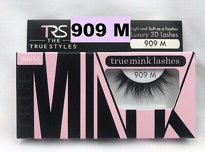 Primary image for TRS TRUE MINK LASHES LUXURY 3D LASHES # 909 M LIGHT & SOFT AS A FEATHER