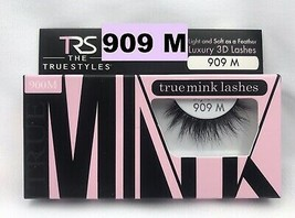 TRS TRUE MINK LASHES LUXURY 3D LASHES # 909 M LIGHT & SOFT AS A FEATHER - $5.93