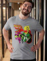 Adam Warlock Infinity Watch T-shirt retro cotton graphic tee Marvel Bronze Age image 3