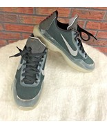 Nike Kobe Bryant X Youth Size 7Y Teal Silver Boys Girls Tennis Shoes Tra... - $34.65