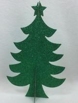 3 HOLIDAY TIME Green Tree Table Decoration Christmas Xmas 25325 - $14.84