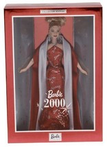 New NRFB Barbie 2000 Collector Edition Barbie Collectibles Doll Red Dress - $13.96