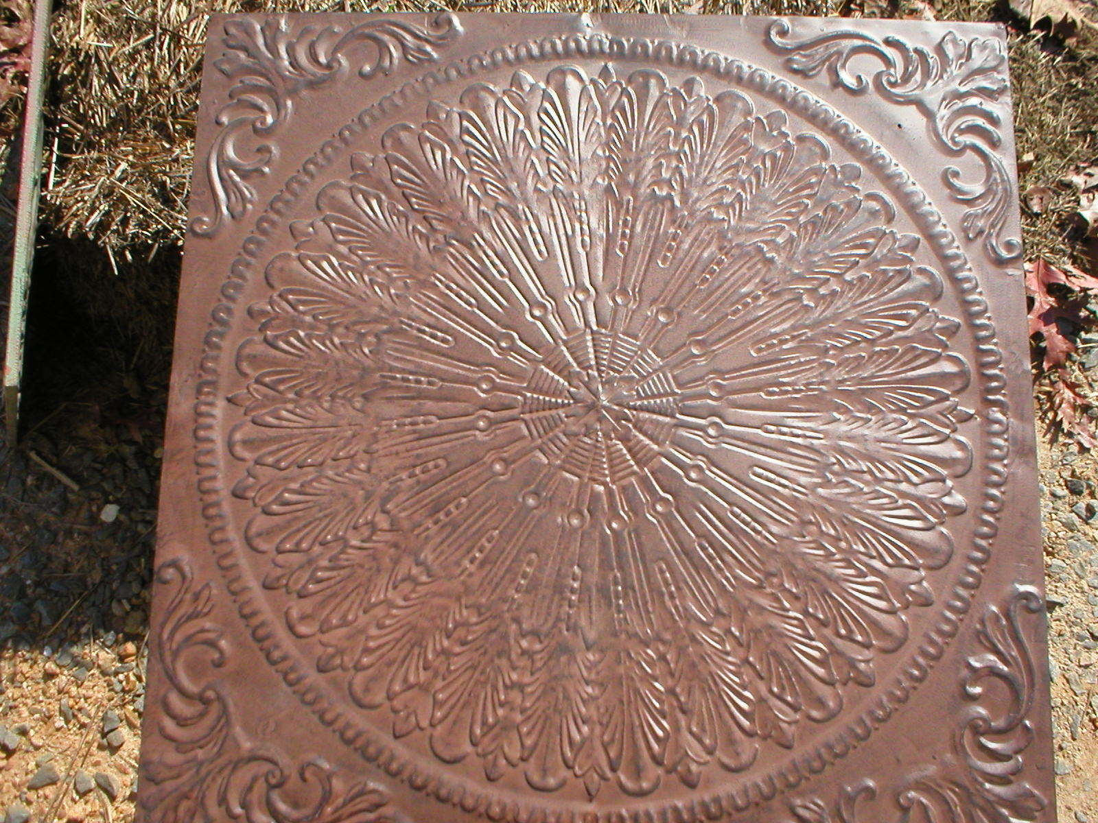 "Giant 22x22x3"" Celtic Knot Mold Makes Concrete Stepping Stone or a Thinner Tile"