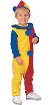 Unisex Toddler & Childs Clown Halloween Costume  - $10.00