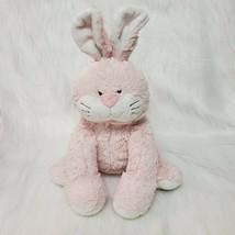 "16"" Webkinz Jr Pink Bunny Rabbit WJ112 Sewn Face Soft  Plush Stuffed Toy B350 - $19.97"