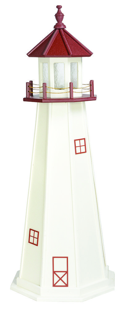 Primary image for MARBLEHEAD LIGHTHOUSE - 4 Foot Poly Replica with Revolving Gallery Light USA