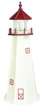 MARBLEHEAD LIGHTHOUSE - 4 Foot Poly Replica with Revolving Gallery Light... - $449.97