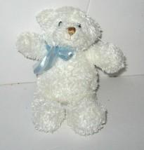 "Gund March of Dimes Sweetness White Bear Plush Rattle Lovey Toy Mini 5"" ... - $9.79"
