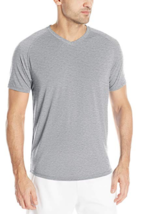Saucony Freedom V-Neck Size 2XL Extra Large Men's Short Sleeve Shirt SA81191-DGH