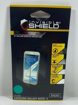 ZAGG InvisibleShield Dry Screen Protector for Samsung Galaxy Note 2 Full Body - - $5.93