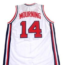 Alonzo Mourning #14 Team USA Basketball Jersey White Any Size image 2