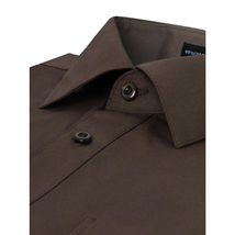 NEW Omega Italy Men's Dress Shirt Long Sleeve Solid Color Regular Fit 10 Colors image 5