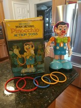 VTG Motorized Wandering Pinocchio Action Toss 5 Rings & Orig Box by JOSE... - $269.95