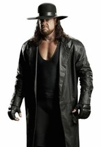 WWE The Undertaker's Long Length Genuine Leather Jacket Trench Coat - $98.99+