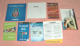 Garmin Nuvi 610 / 660 GPS Manual How To Papers Fliers Software Start Dis... - $17.81