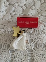 Avon The Gift Collection Heavenly Angel ornament Star - $6.78