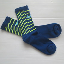 Nike Youth Performance Crew Socks - SX5815 - Dark Blue - Size M - NEW - $6.99