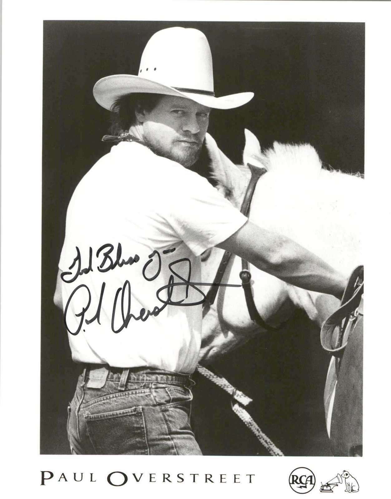 Primary image for Paul Overstreet Signed Autographed Glossy 8x10 Photo