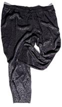 "Lane Bryant Womens Pants Size 26/28 Inseam 28"" Black Rayon New Nwot - $24.08"