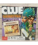 Clue Carnival The Case of the Missing Prizes Board Game Hasbro 2009 New - $19.39