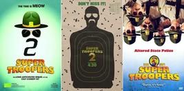 "Super Troopers 2 Movie Poster Comedy Film Art Print 13x20"" 24x36"" 27x40"" - $9.89+"