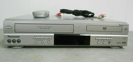 Panasonic PV-D4743 Dvd Vcr Combo Dvd Player Vhs Vcr Combo With Remote & Cables - $166.58