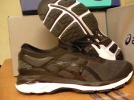 Asics women's gel kayano 24 running shoes black phantom white size 9.5 us - $118.75