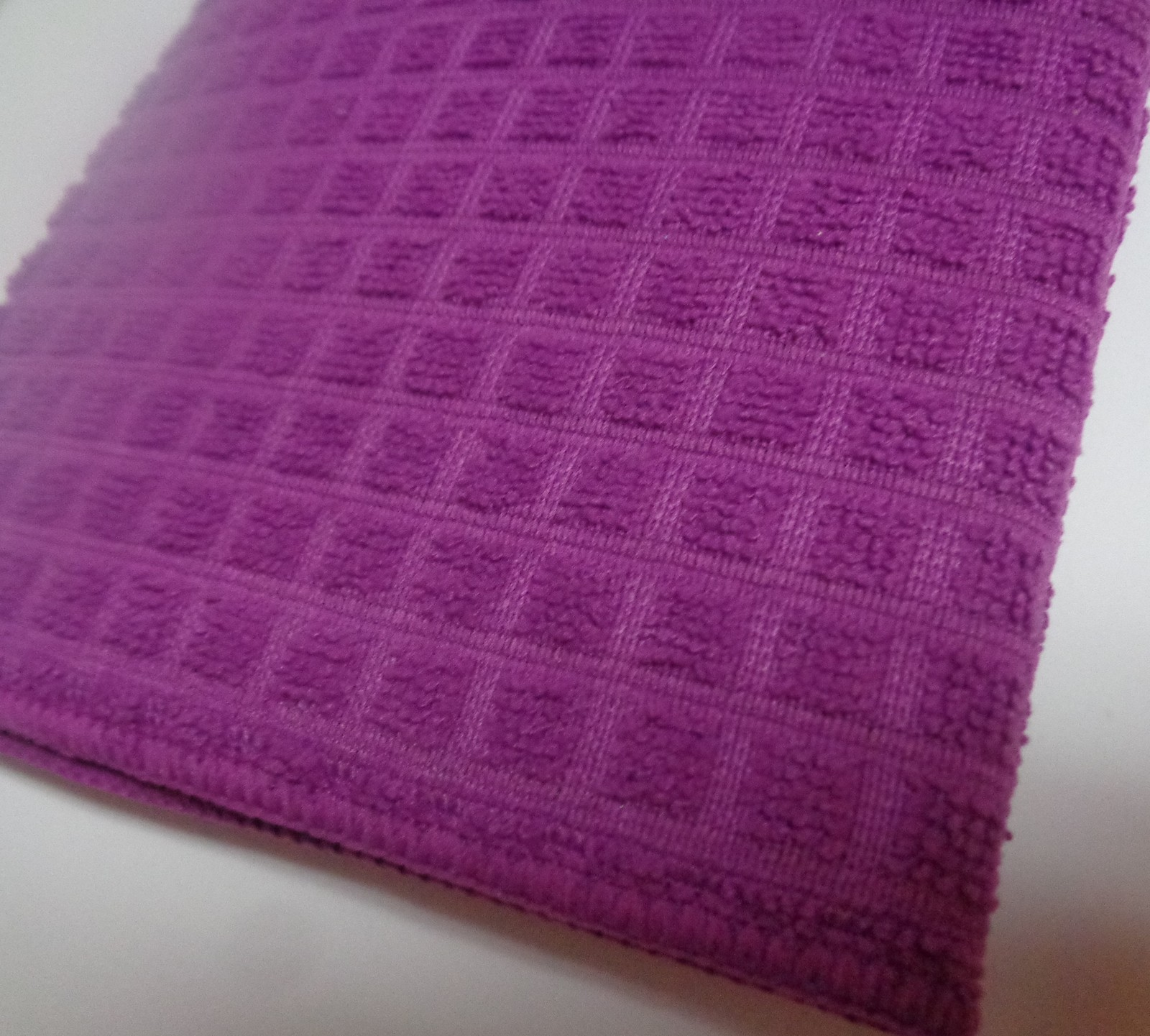 Dish Drying Mat Microfiber Absorbent Machine Washable Fast Drying Purple NWT 15""