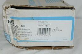 Moen Chateau Chrome Mini Blade Two Handle Laundry Faucet 74998 image 6