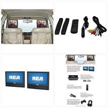 "RCA 9"" Mobile Dual Screen DVD Player (DRC79982) - $139.32"