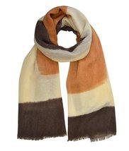 Le Nom Faded Color Block Scarf (Dust Orange) - $14.84