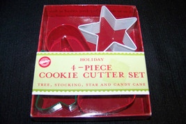 New Wilton Holiday / Christmas Cookie Cutter Set - $6.32
