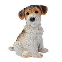 Puppy Dog: Fox Terrier Breed Man's Best Friend Canine Animal Sculpture - $43.51