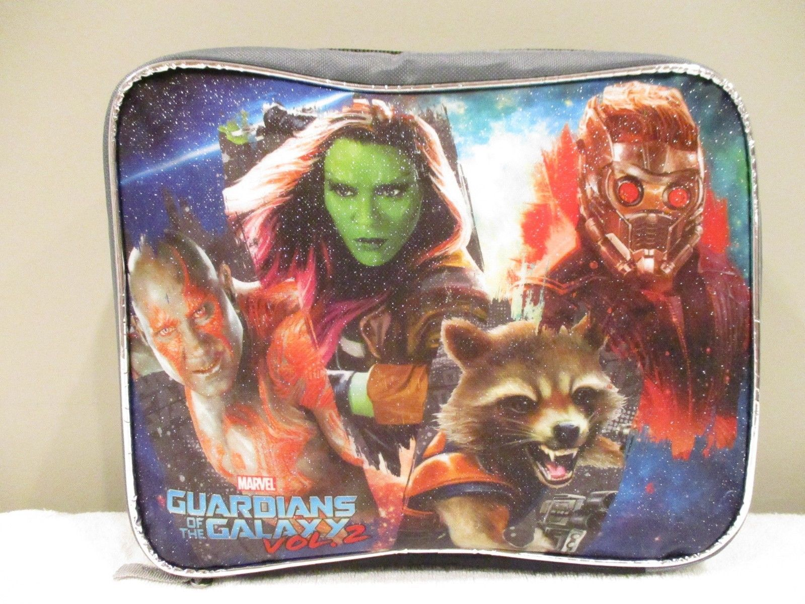 Marvel Guardians of the Galaxy Volume 2 Childrens Backpack and Lunchbox