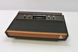 Vintage Atari Game Console Model CX-2600A, Woodgrain - $59.99