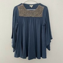 Anthropologie Deletta S Small Josephine Embellished Top  - $14.39