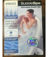 Homedics Bubble Spa BMAT-1 Massaging Air Filled Bubble Bath Mat w/ Heat NIB - $130.67