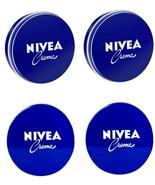 4 Può di 150 ML / 148ml Nivea Crema Originale pelle Mano Idratante Metal... - $18.67
