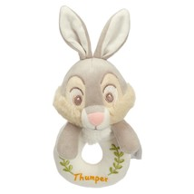 Disney Parks Thumper From Bambi Plush Rattle for Baby Bunny Rabbit - $15.83