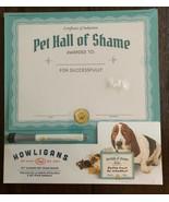 Pet Hall of Shame Dry Erase Board NEW Fred Howligans - $11.87