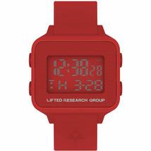 LRG Lifted Investigación Grupo Fuego Rojo Digital LCD Árbol Search Reloj De Caja